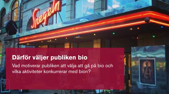 Nya produkter Skodon bästa stället Varför väljer folk att gå på bio? Filminstitutet presenterar ny ...